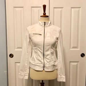 Express white jacket